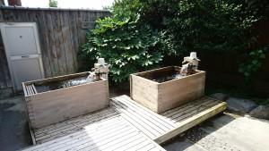 ヒノキ風呂7月